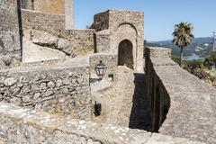 Castellar de la Frontera Castle, Andalusia, Spain Stock Photos