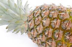 Fresh ananas - stock photo