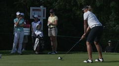 LPGA 2012, Vancouver Golf Club, professional golfer Stock Footage