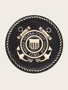 Stock Photo of United States Coast Guard Emblem