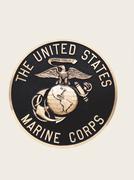United States Marines  emblem Stock Photos