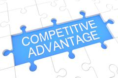Competitive Advantage Stock Illustration