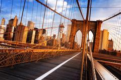 Brooklyn Bridge in New York City Kuvituskuvat