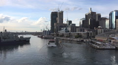 Darling Harbour Sydney Time lapse - stock footage