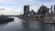 Stock Video Footage of Darling Harbour Sydney Time lapse