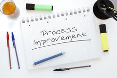 Process Improvement - stock illustration
