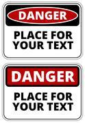 Stock Illustration of Danger