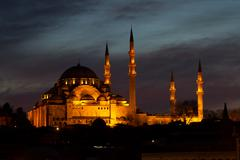 Suleymaniye Mosque, Istanbul, Turkey - stock photo