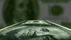 Money Close Up Tracking Shot - stock footage