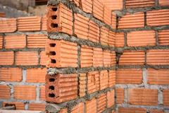 A Brick Construction used for build Stock Photos