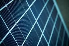 Closeup of solar panel Stock Photos
