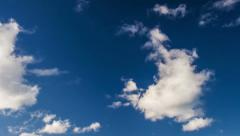 Clouds and blue sky Stock Footage