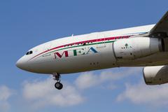 Middle Eastern Airlines Airbus A330 Stock Photos