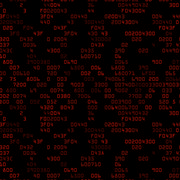 Red security background with HEX-code Stock Illustration