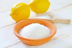 Acid and lemons Stock Photos
