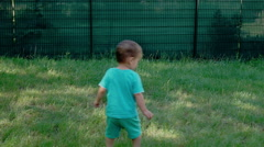 Kids Playing on Playground Stock Footage