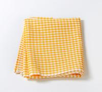 Stock Photo of Checked tea towel