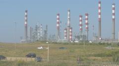 Big industrial power plant, Porto Stock Footage