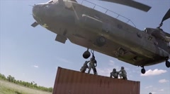 The 45th Field Artillery Brigade conducts annual training Stock Footage