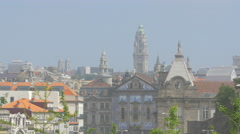 City Hall's tower, Porto Stock Footage