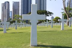American Memorial Cemetery in Manila, Philippines.It has the largest number o Kuvituskuvat