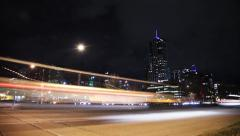 Denver Street Time-lapse (Speer) Stock Footage
