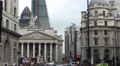 Timelapse Bank of England City Buzz 4K Footage