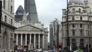 Stock Video Footage of Timelapse Bank of England City Buzz 4K