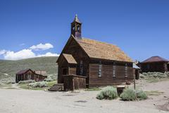 Bodie Ghost Town - stock photo