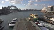 Stock Video Footage of Sydney harbour timelapse as night approaches