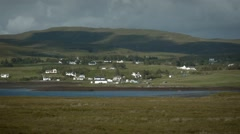 Static view of Dunvegan, Isle of Skye, Scotland Stock Footage