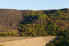 Dump Coal Mine Open Pit Stock Photos