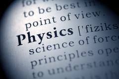 Physics - stock photo