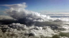 Above sky, heavens, clouds Stock Footage