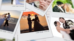 Photo - polaroid photos Stock After Effects