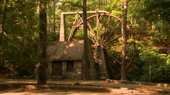 Old Mill at Berry College, Rome, GA Stock Footage