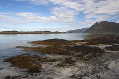 Gimsoy, Lofoten Islands, Norway, Scandinavia - stock photo