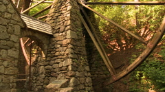 Old Mill at Berry College Stock Footage
