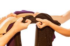 contending clothes - stock photo