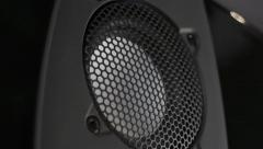 Tweeter speakers floor - stock footage