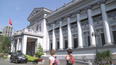 Ho Chi Minh City Museum in Ho Chi Minh City, Vietnam Stock Footage
