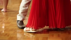 Couples dancing during a wedding reception Stock Footage