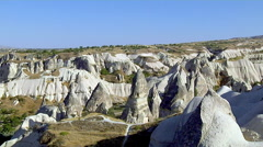 Cappadocia White Valley, Turkey Stock Footage
