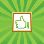 Stock Illustration of Like picture icon