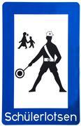 School Crossing Guard Stock Illustration