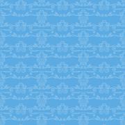 Vector seamless pattern of elegant flourishes Stock Illustration