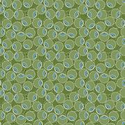 Vector seamless pattern of stylized olive - stock illustration