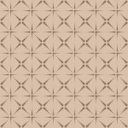 Intricate seamless geometric pattern - stock illustration