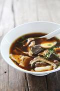 Crunchy Pork Soup Stock Photos