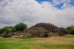 Tazumal mayan ruins in El Salvador, Santa Ana Stock Photos